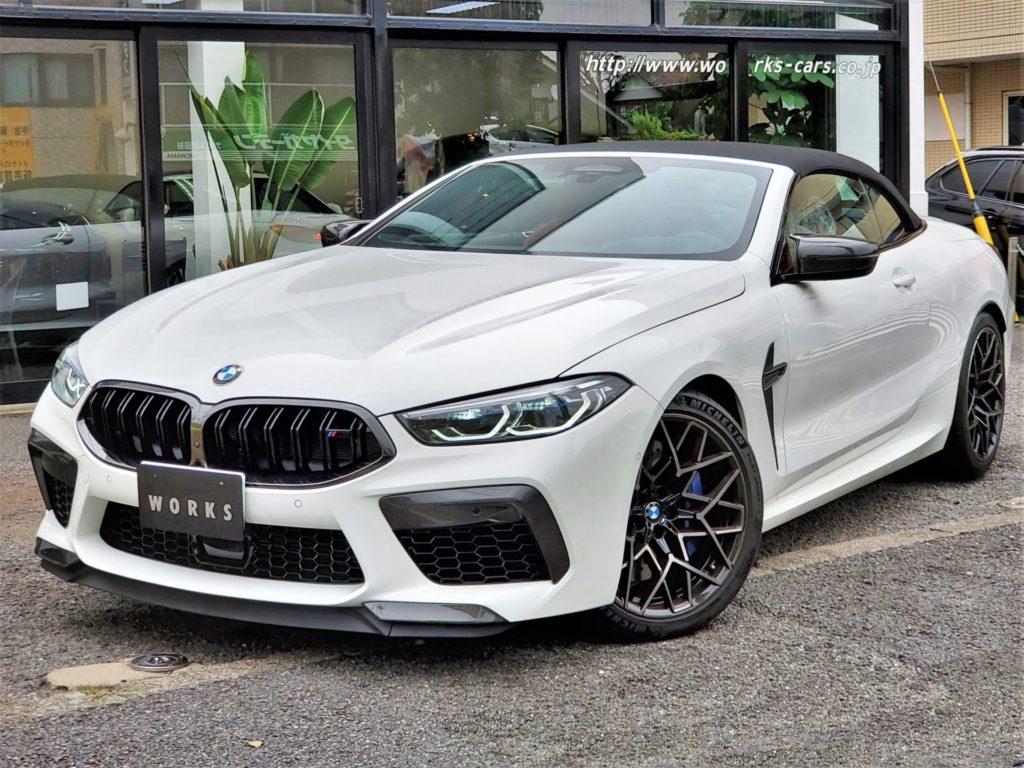 BMW M8 Cabriolet